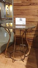 Tea Glass Marble Side Table