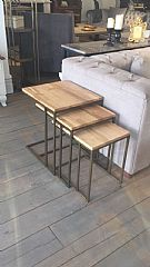Cross Side Table Set
