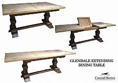 Glendale Extending Dining Table 180-->240 x 100