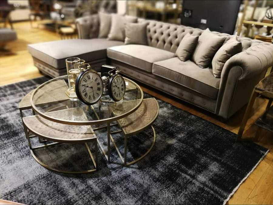 Logan Coffee Table Round 100 cm